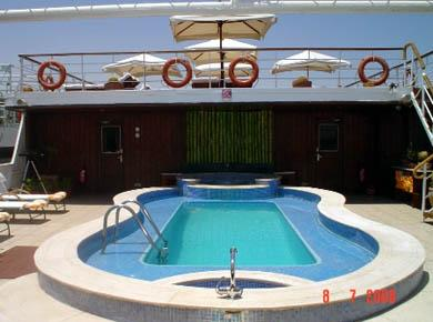 Alexander The Great Nile cruise pool