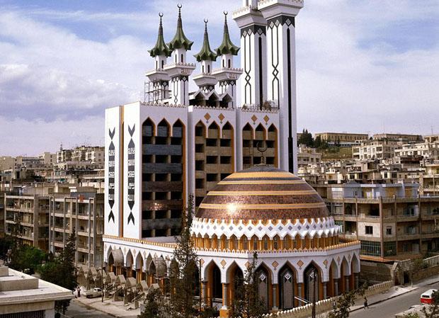 Al Rahman Mosque Aleppo Syria