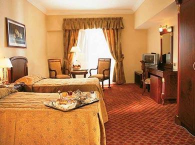 Al Nabila Cairo hotel twin room