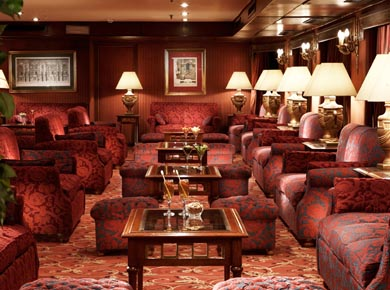 Crown Jewel Nile cruise lounge