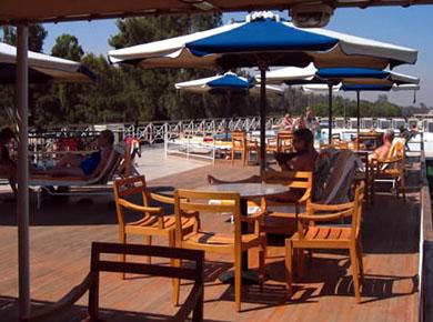 Da Vinci Nile cruise Sundeck