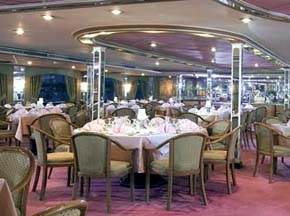 Diamond Boat Nile cruise Restaurant