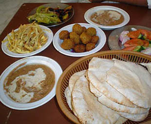 Egyptian foods