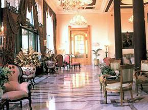 El Salamlek Palace hotel lobby