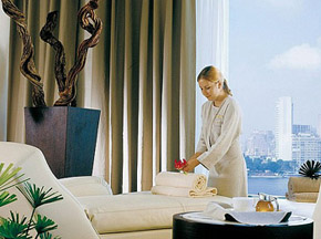 Four Seasons Nile Plaza hotel Spa center