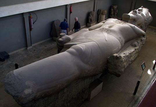 King Ramses Statue at Memphis